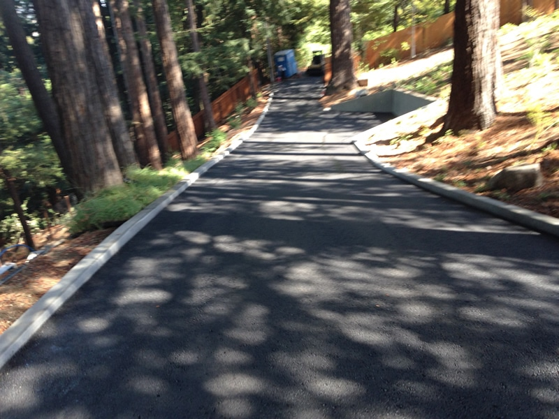 Asphalt Ross Spring Hill Rd - after