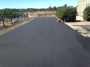 Asphalt Sebastopol Hessel Road-before