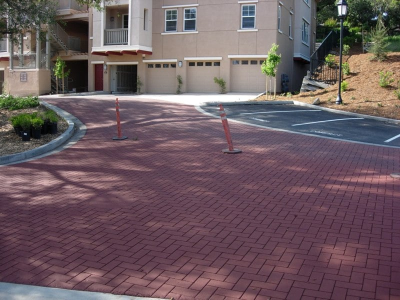 Asphalt Stamping Fountain Grove