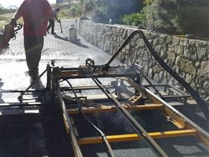 pavement stamping equipment