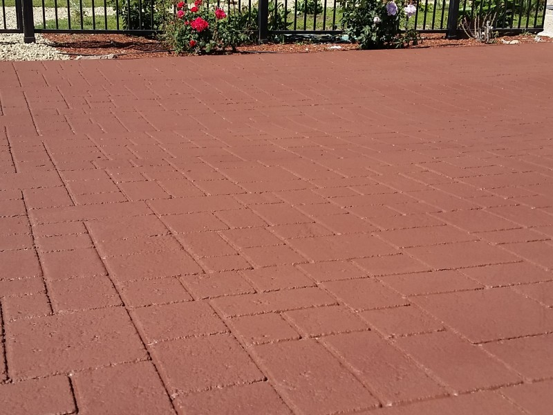 Ashlar Slate, backyard patio, Santa Rosa Ca