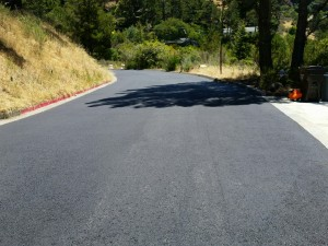 Private Road Asphalt Paving, Tiburon, CA
