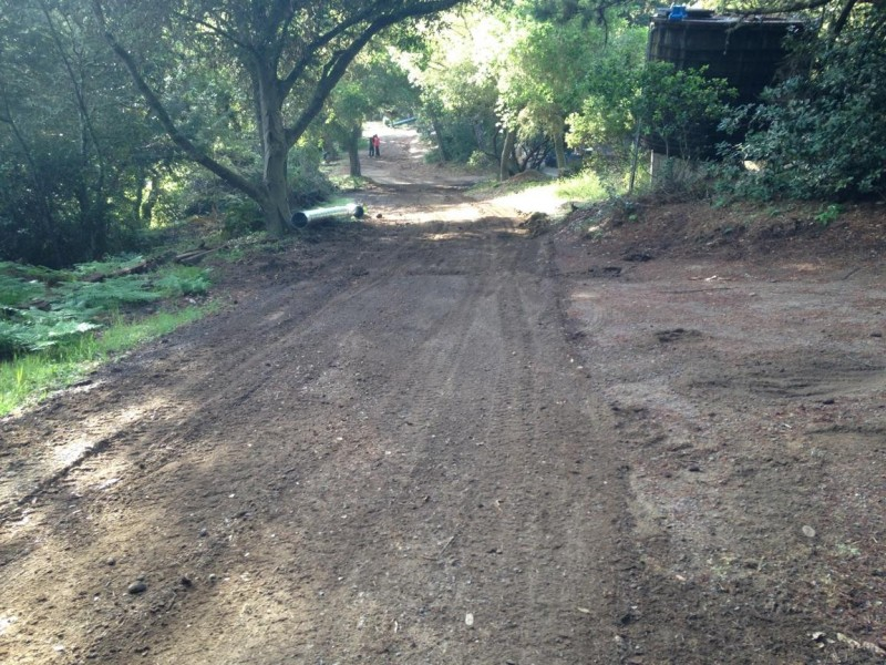 Freshly Graded, Ready For Base Rock, Private Roadway, Inverness, CA