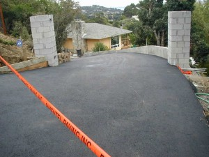 Asphalt San Anselmo Marguerita driveway after