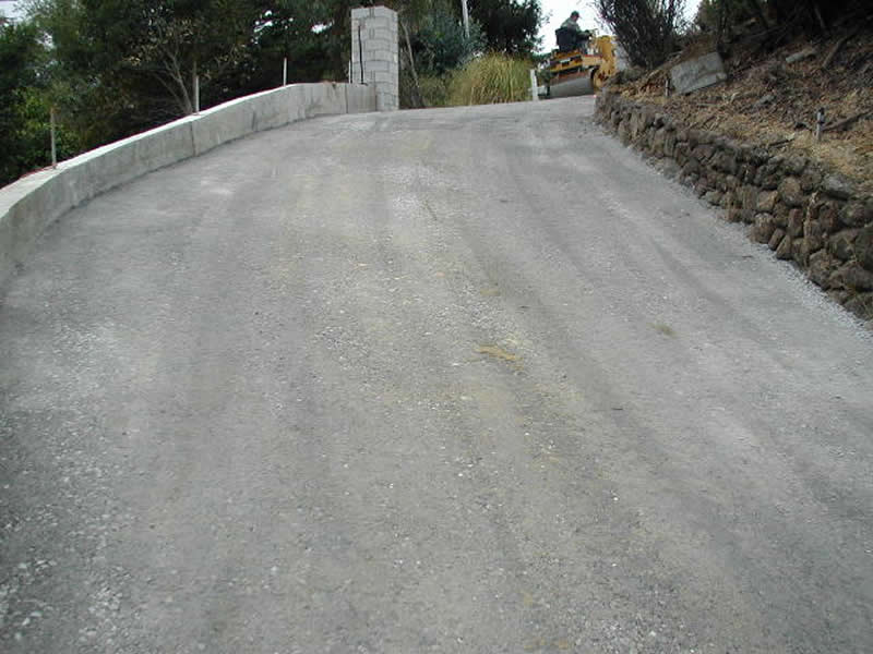 Asphalt San Anselmo Marguerita driveway before