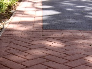 Asphalt and Asphalt Stamping Santa Rosa Downtown after