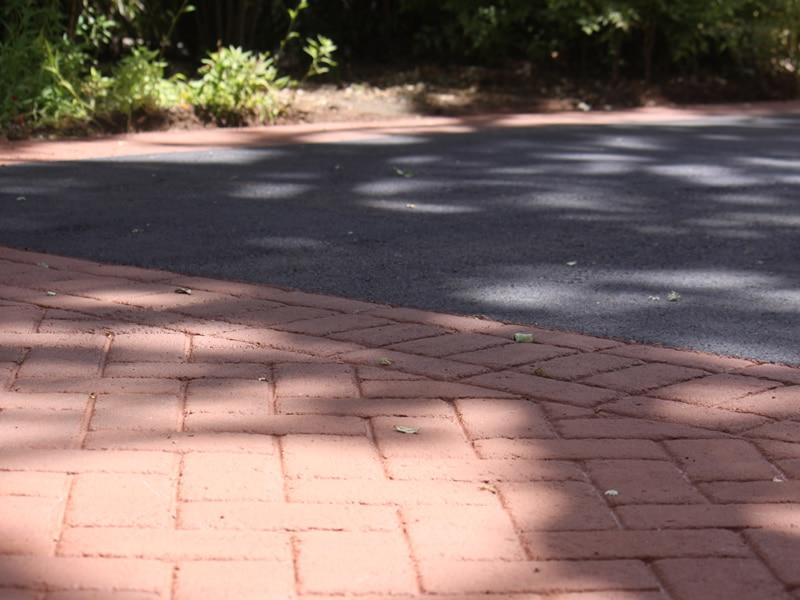 Asphalt and Asphalt Stamping Santa Rosa Downtown after2