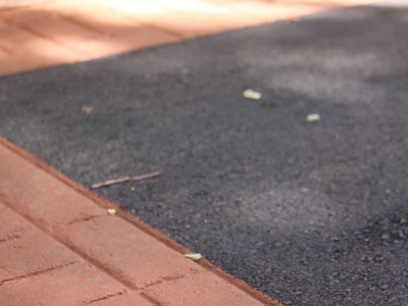 Asphalt and Asphalt Stamping Santa Rosa Downtown after