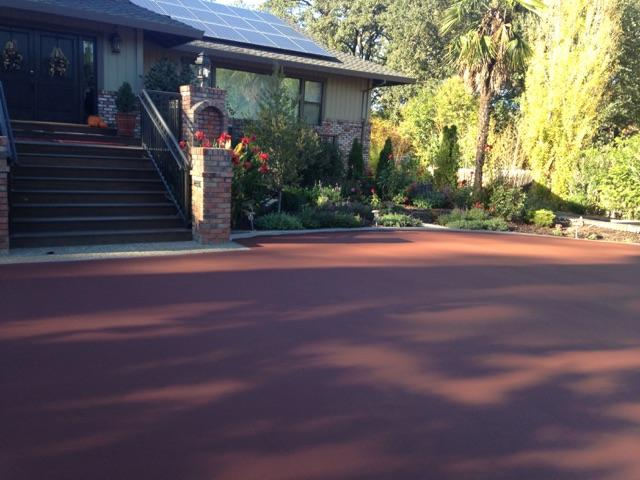 Color Coat Asphalt Paving, Napa, Ca