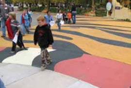 StreetBond coating applied to playground