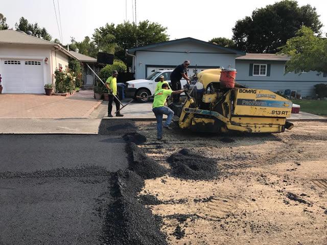 Novato road work