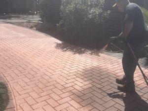 recoating stamped asphalt