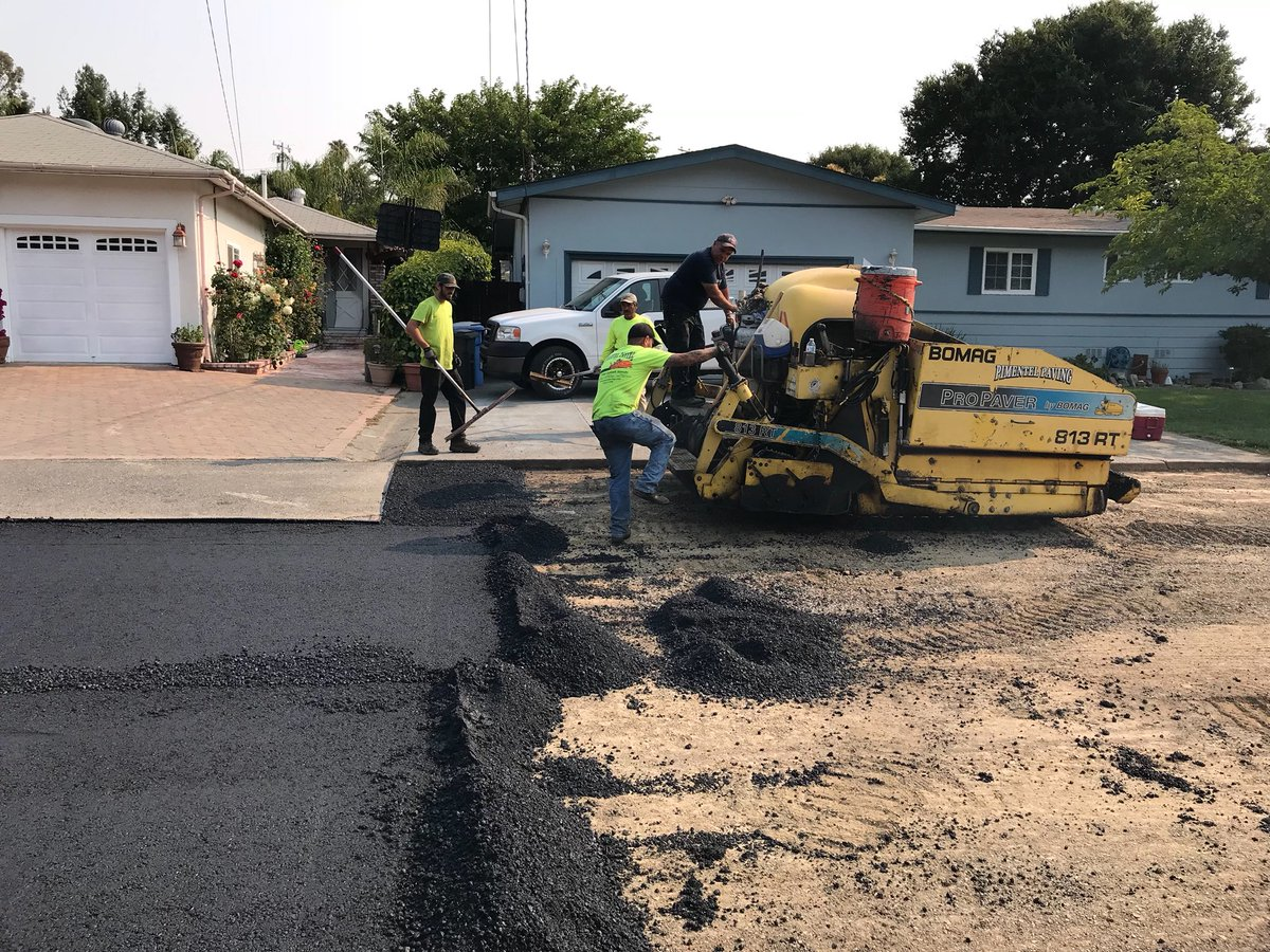Novato road work