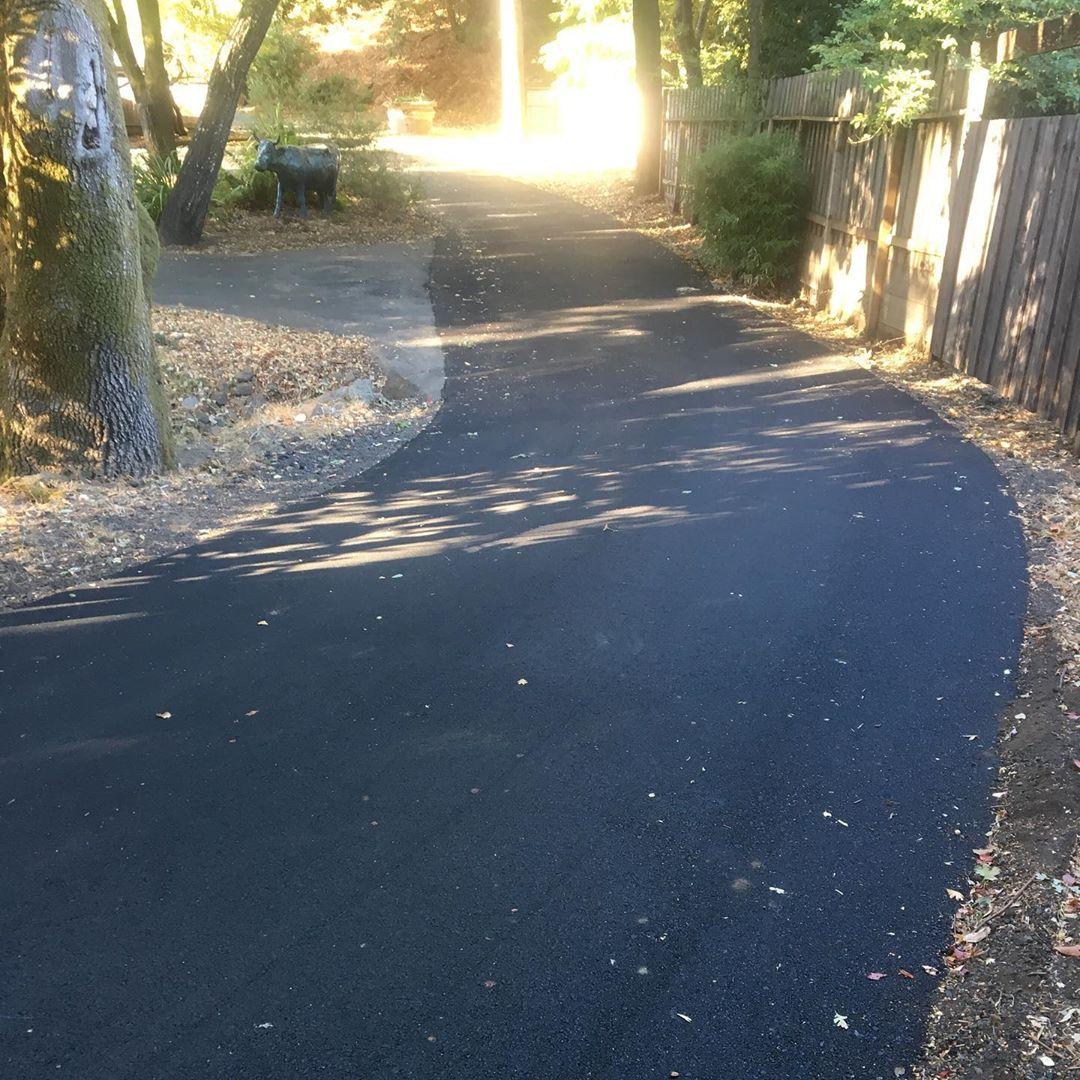 Asphalt Driveway, San Anselmo