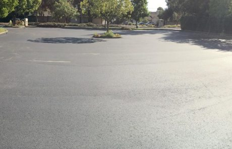 Asphalt Church Parking Lot, Petaluma