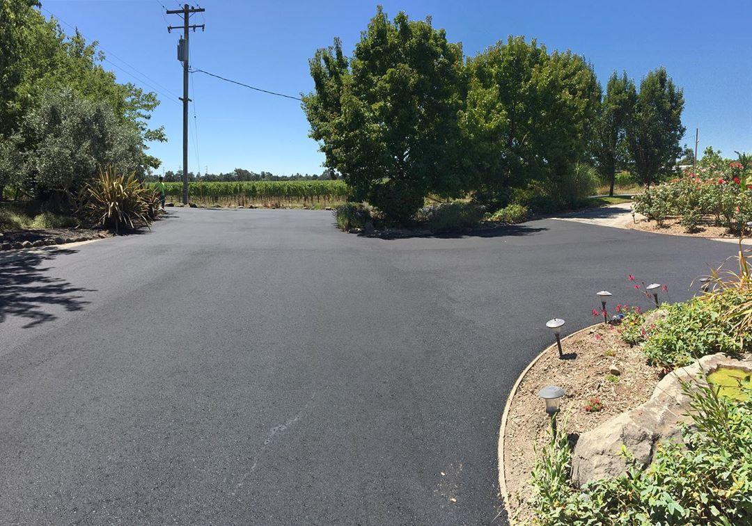 Asphalt private road, Santa Rosa