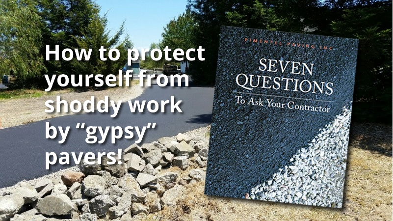 free ebook: protect yourself from shoddy paving